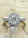brylanty pierścionek