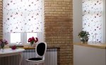 wnętrze mieszkania - cegły na ścianie